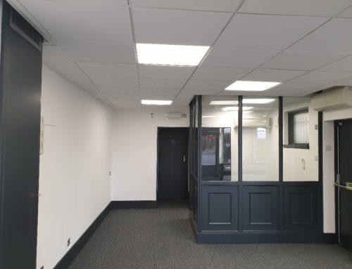 Helston Office Referbishment